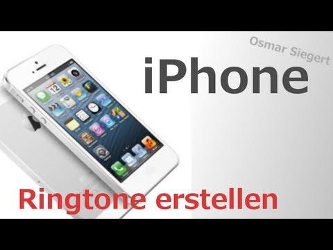 IPhone 4/4S/5/5S/6/6 Plus: Klingeltöne erstellen