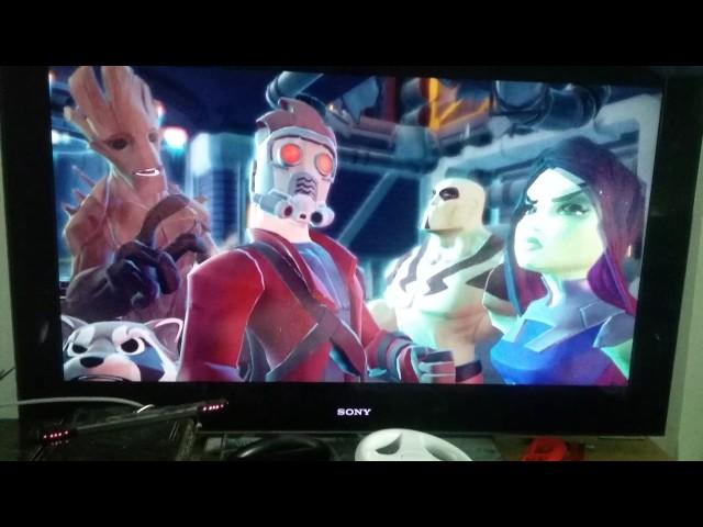 Débile Gaming - Pack aventure Gardiens de la galaxie dans Disney Infinity 2.0 Partie 1
