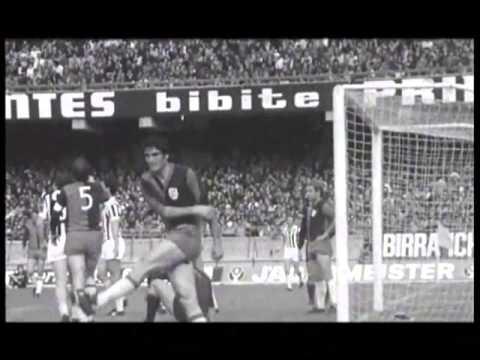 Cagliari - Juventus 1-1 (13.04.1975) 11a Ritorno Serie A.