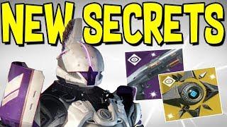 Destiny 2: SECRET EXOTIC & HIDDEN QUEST! Secret Shotgun Reward, Saint 14 Found, & Sagira Ghost Shell
