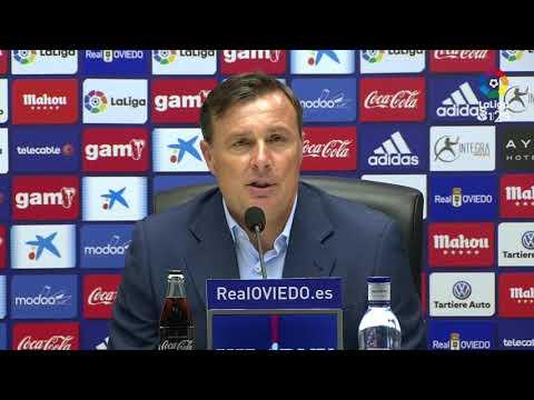 Rueda de prensa de Cristóbal Parralo tras el Real Oviedo vs AD Alcorcón (1-0)