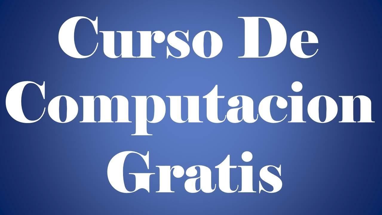 Curso de computacion gratis youtube for Curso de interiorismo gratis