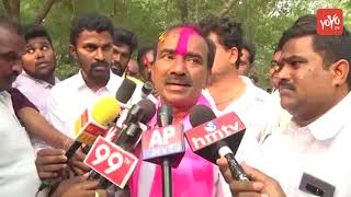 Etela Rajender Speaks to Media After His Huge Win in Huzurabad | Telangana