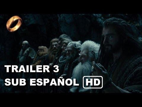 El Hobbit: La Desolación de Smaug - Trailer 3 subtitulado en español y en Full HD