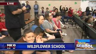 Back to school: Wildflower Elementary School