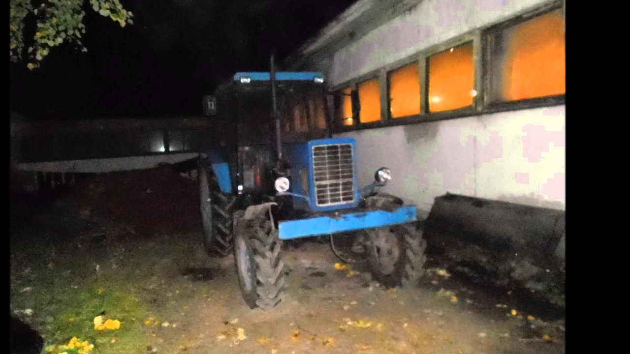 Тракторы Русский тюнинг 2015 - YouTube
