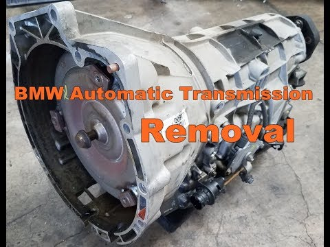 Bmw e38 740 automatic transmission removal e39 540