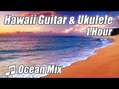Hawaiian Guitar Music Ukulele Island Songs Instrumental Acoustic Study Playlist Background studying