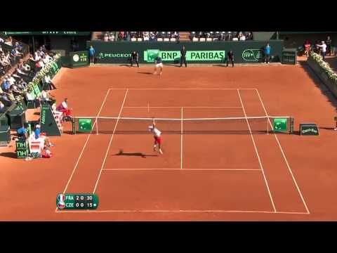 Shot of the Day - Richard Gasquet's (FRA) exquisite lob