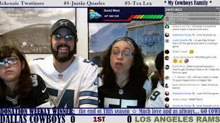 ☆**LIVE STREAM** Reaction ☆ 2019 PRESEASON GAME 2: Dallas Cowboys vs Los Angeles Rams [In Hawaii!]