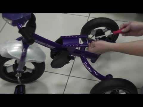 Сборка детского трехколесного велосипеда Street Trike A22-1D