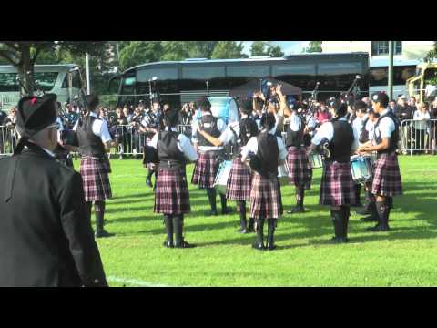 Worlds 2012 - St Thomas Episcopal School Juvenile Pipe Band. Medley.