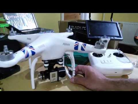 My DJI Phantom 2 Zenmuse H3-3D and FPV setup