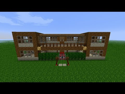 Minecraft construction d 39 une maison ep 2 partie 2 youtube - Construction minecraft maison ...