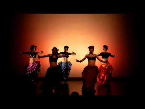 TRIBAL WORLD. Relevé, III Festival de Devadasi Dance Studio. Danza Tribal.