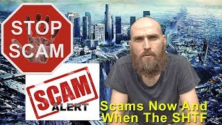 Disaster Scams and Scams When The SHTF - How To Identify Them
