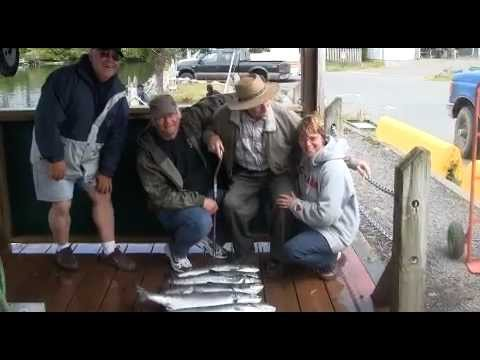 Family fishing vacation from Ucluelet BC