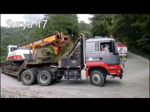 Download Lagu Truck MAN TGS Muatan Crane 60 TON, Sitinjau Lauik MP3 Free