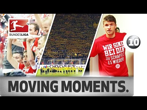 Top 10 Moving Moments of 2015/16 - From YNWA Goosebumps to Badstuber Heartbreak
