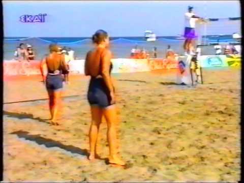 Beach Volleyball 1995 Final _ Mitsi/Xerikou vs Karadasiou/Sfiri - Rodos