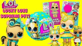 LUCKY LUXE Pony LOL Supreme Pet LOL Stick And Style + Cute Rebel Activity Book