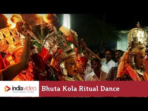 Bhuta Kola At Brahma Baidarkala Temple, Kasaragod video