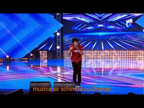 Bogdan Bratis - One Republic - apologize - X Factor Romania, Sezonul Trei video