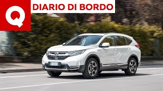Honda CR-V Hybrid: una settimana di prova in 5 minuti