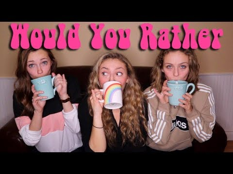 LESBIANS PLAY WOULD YOU RATHER (FT. PAIGE & HOLLY)