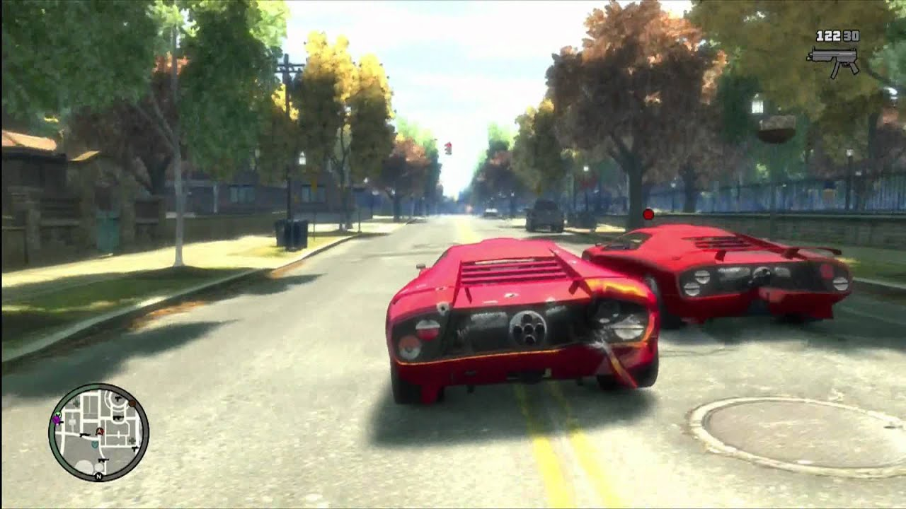 Fun Times With Fast Cars Gta Iv Youtube