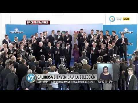 Visión 7 Brasil 2014: La selección argentina regresó con gloria 1 de 3