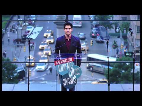 Darren Criss - Broadwaycom Audience Choice Awards Opening Song