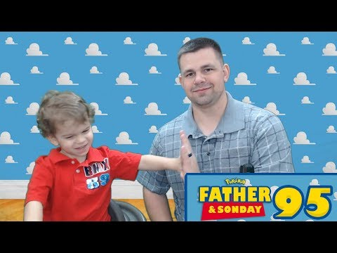 Father and Sonday! | Opening Pokemon Cards with Lukas #95
