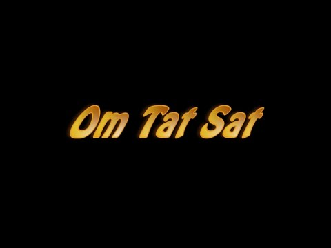 Om Tat Sat Sri Narayana Tu (sarvadharm Prathna)... With Lyrics video