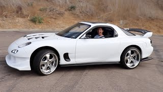DRIVING MY RX-7 FOR THE FIRST TIME!!!