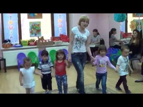 Бэби-клуб Капитошка Комплексные занятия детей 2 и 3 лет 1 часть Раннее развитие www.kapetoshka.ru