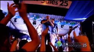 Convenção dos Democratas 25, discurso do prefeito Sales Lima