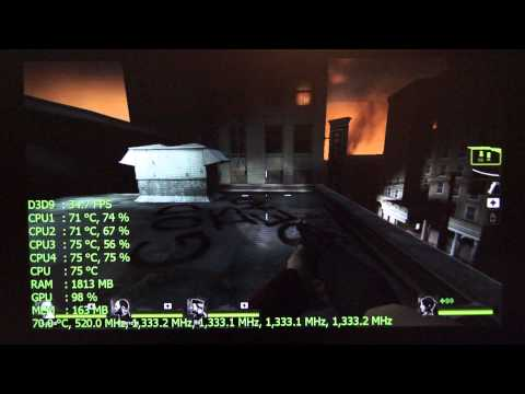 Intel Compute Stick Gaming: Left 4 Dead 2 @ 720p