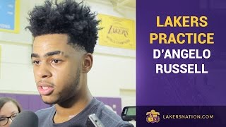 D'Angelo Russell Clarifies His Role With Byron Scott