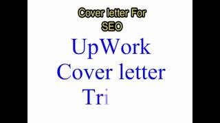 How To Creat -Cover Letter For