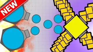 DIEP.IO   HOW TO BE A MINI MOTHERSHIP / ARENA CLOSER & DOMINATOR!