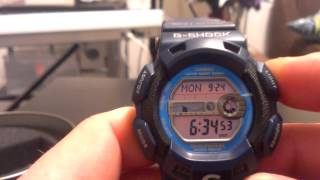 Gulfman G9100-2 Blue - Casio G-Shock Watch Review