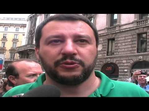REFERENDUM 2014 - VIENI A FIRMARE - MATTEO SALVINI - REATO DI CLANDESTINITÀ'