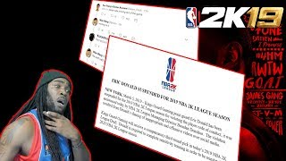 PUSHING PATCH #2 COMING | 2K LEAGUE PLAYER SUSPENDED - NBA 2K19 NEWS & UPDATE