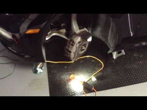 Porsche Panamera Front Brake Pads Replace - Caliper Removal - Easy DiY