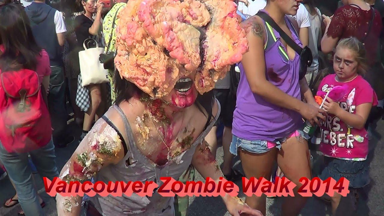 Vancouver Zombie Walk 2014
