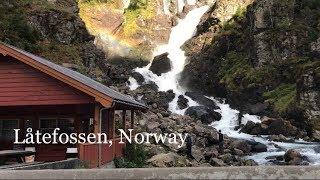 Vlog 10: Chasing Waterfalls in Norway (Låtefossen)