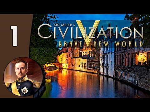 Civilization V Daily #3: Belgium - Part 1