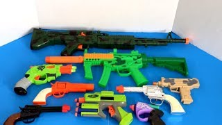 Box of Toys 🔫 Box Full of Toys 🔫 NERF Guns 🔫 Toy Guns 💥 Kids Toys 💥 Military Toys