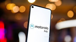 Motorola P40 with INFINITY O - FIRST LOOK!!!
